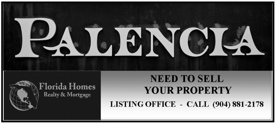 Real Estate Palencia St Augustine Florida