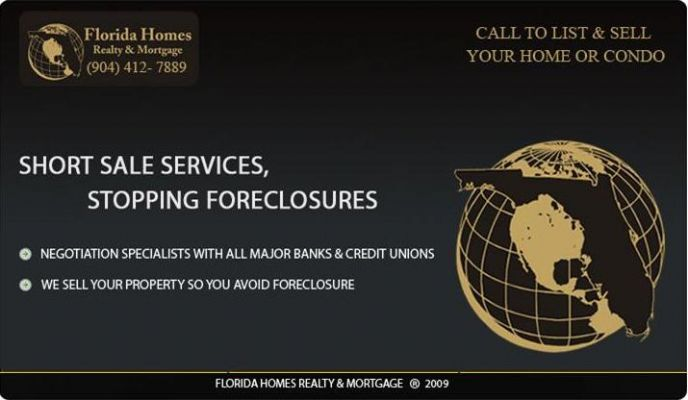 Jacksonville Florida foreclosed homes